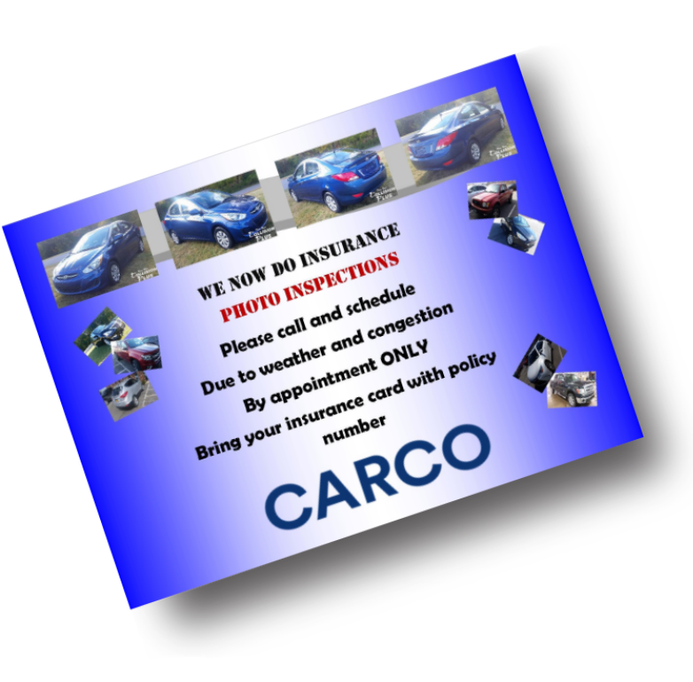 Dave Ure's Collision Plus Now Offers CARCO Vehicle Insurance Photo Inspections!